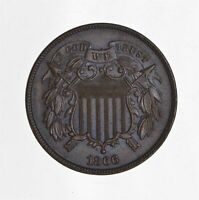 1866 TWO CENT PIECE 4426