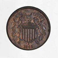 1865 TWO CENT PIECE 4427
