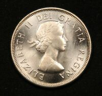 1963 CANADA SILVER 25 CENTS   MS65 GEM UNCIRCULATED