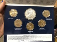 2015 UNITED STATED MINT ANNUAL UNCIRCULATED DOLLAR COIN SET