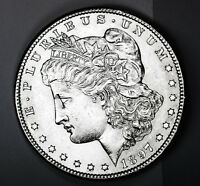 1897-S MORGAN SILVER DOLLAR. FULL CHEST FEATHERS. BU   INV-A