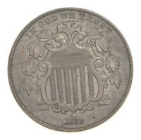 1869 SHIELD NICKEL 4760