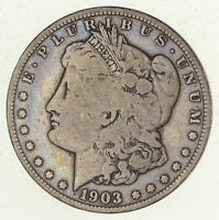1903-S MORGAN SILVER DOLLAR 3366