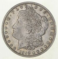 1893-O MORGAN SILVER DOLLAR 2897