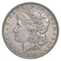 1878 MORGAN SILVER DOLLAR - 7TF REV OF 78 4680