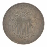 1866 SHIELD NICKEL 4780