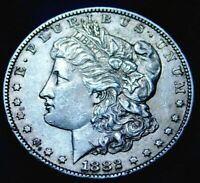 1882 S  MORGAN SILVER DOLLAR A22-134