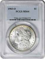 1903-O MORGAN SILVER DOLLAR MINT STATE 64 PCGS