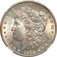 1902-S MORGAN DOLLAR MS / MINT STATE 63, NGC S$1 C00038853