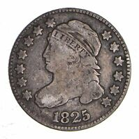 1825 CAPPED BUST DIME - CIRCULATED 1152