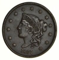 1837 YOUNG HEAD LARGE CENT - NEAR UNCIRCULATED 5568