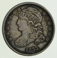 1833 CAPPED BUST DIME - CIRCULATED 8102