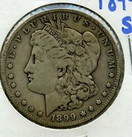 1899-S MORGAN SILVER DOLLAR - SAN FRANCISCO MINT RW931