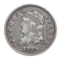 1835 CAPPED BUST HALF DIME 4575