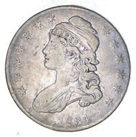 1834 CAPPED BUST HALF DOLLAR - CIRCULATED 8967