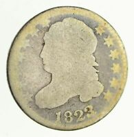 1823 CAPPED BUST DIME - CIRCULATED 4099