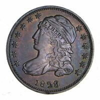 1829 CAPPED BUST DIME - CHOICE 1239