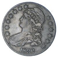 1832 CAPPED BUST HALF DOLLAR - CIRCULATED 0358