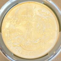 1911 CHINA EMPIRE SILVER DOLLAR DRAGON COIN NGC Y 31 L&M 37