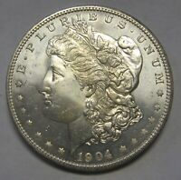 1904-O SILVER MORGAN DOLLAR GRADING GEM BU PROOFLIKE PRICED TO MOVE   D42
