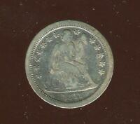 1841-O SEATED LIBERTY DIME | FINE | SILVER | NEW ORLEANS | CP1839