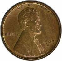 1909-S VDB LINCOLN CENT BU UNCERTIFIED