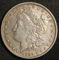 1889-O MORGAN SILVER DOLLAR.  VAM.  DOUBLE DATE.  X.F.  140961