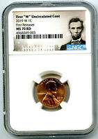 2019 W LINCOLN PENNY NGC MS70 RD FIRST RELEASES UNCIRCULATED