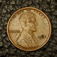 ITM-1754 1925 P LINCOLN WHEAT CENT  AU CNDTN  $20 ORDERS SHIP FREE