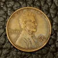 ITM-1725 1929 S LINCOLN WHEAT CENT  EXTRA FINE  / EF CNDTN  $20 ORDERS SHIP FREE