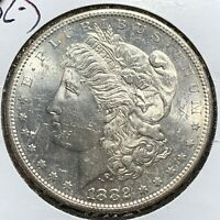 1882-S $1 MORGAN SILVER DOLLAR 52163