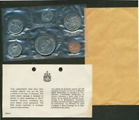 1968 CANADA PROOFLIKE PL MINT SEALED 6 COIN SET.
