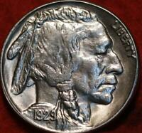 UNCIRCULATED 1929 S SAN FRANCISCO MINT BUFFALO NICKEL
