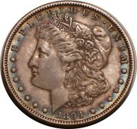 1894 P MORGAN SILVER DOLLAR KEY DATE BOLD FULL DETAIL WITH S