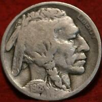 1918 D  DENVER MINT BUFFALO NICKEL