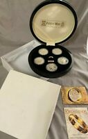 LIMITED PROOF LORD OF THE RINGS STERLING SILVER 5 COIN SET 1