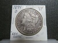 1894 O SILVER MORGAN DOLLAR-HARDER DATE -  FOR THAT BOOK SET
