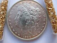 OLD 1890 S U.S.MORGAN LIBERTY EAGLE 90 SILVER DOLLAR BULLION BARTER COIN  GOLD