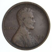 1909 S VDB LINCOLN WHEAT CENT   DIRK COIN COLLECTION  345