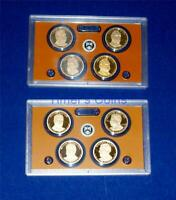 2012 S AND 2013 S PROOF PRESIDENTIAL DOLLAR SET  TWO SETS EI