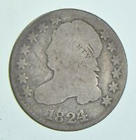1824/2 CAPPED BUST DIME 6019
