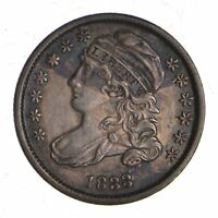1833 CAPPED BUST DIME 3688
