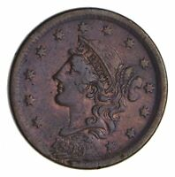 1839 BRAIDED HAIR LARGE CENT - SHARP 9933