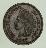 1867 INDIAN HEAD CENT 3972