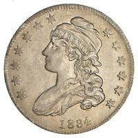 1834 CAPPED BUST HALF DOLLAR - CIRCULATED 0694