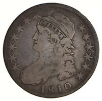 1810 CAPPED BUST HALF DOLLAR - CIRCULATED 2754