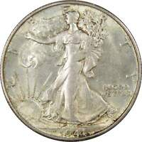 1941 S 50C LIBERTY WALKING HALF DOLLAR SILVER US COIN UNCIRCULATED MINT STATE