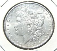 1903 - P $1 MORGAN SILVER DOLLAR BU  COIN PRIVATE SELLER 30 DAY GUARANTEE