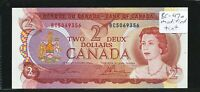 1974 $2 BANK OF CANADA. MODIFIED TINT TYPE. SERIAL BC5069356. CAT BC 47A.
