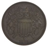 1866 TWO CENT PIECE   PRESTIGE COIN COLLECTION  442